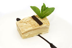 Piece of layer cake Stock Images