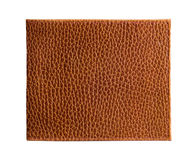 Piece of  leather. Royalty Free Stock Image