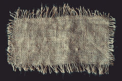 A piece of linen cloth Stock Photo