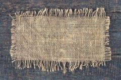 A piece of linen cloth Royalty Free Stock Photos