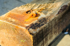 Piece Of Lumber Royalty Free Stock Images