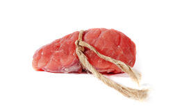 Piece of meat. Stock Photo