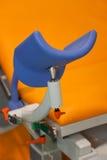 Piece of medical chair closeup. Stock Photos
