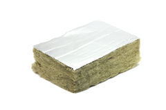 Piece of mineral wool Royalty Free Stock Images