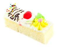 Piece of mini cake Royalty Free Stock Images