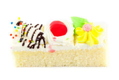 Piece of mini cake Royalty Free Stock Photography