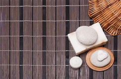Piece of natural soap Royalty Free Stock Photography
