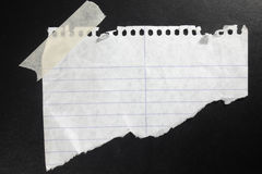 Piece Of Paper Stock Image