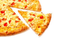 Piece Of Pizza Royalty Free Stock Photography