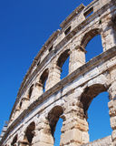 A piece of old  arena. A piece of old roman arena Royalty Free Stock Image