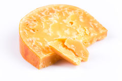 Piece of old cheese Royalty Free Stock Images
