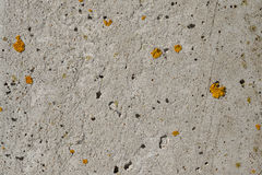 A piece of old gray concrete wall Royalty Free Stock Photos