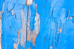 Piece of old painted boat Royalty Free Stock Images