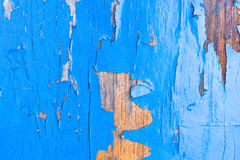 Piece of old painted boat Royalty Free Stock Image