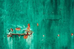Piece of old rusty metal royalty free stock photography