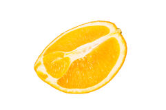 A piece of orange Royalty Free Stock Photos