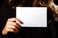 Piece of paper Royalty Free Stock Image