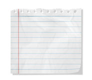 Piece of paper. With empty space Royalty Free Stock Photo