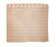 Piece of paper Royalty Free Stock Photo