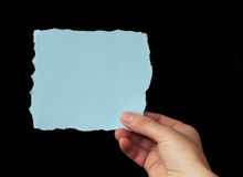 Piece of paper with space for text Royalty Free Stock Images
