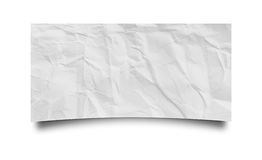 A piece of paper. On white background Stock Image