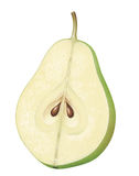 Piece of pear Stock Images