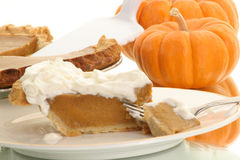 Piece of pie Stock Photos