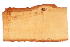 A piece of pine boards Royalty Free Stock Image