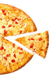 Piece of pizza Royalty Free Stock Images