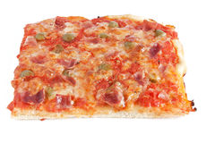 Piece of pizza stock images