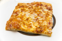 Piece of pizza Royalty Free Stock Photo