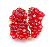 Piece of pomegranate Stock Photos