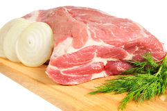 Piece of pork for roasting Royalty Free Stock Photo