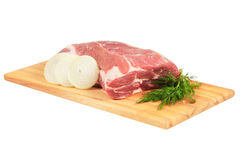 Piece of pork for roasting Stock Photos