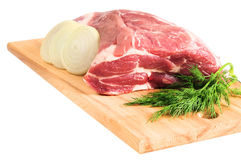 Piece of pork for roasting Royalty Free Stock Photos