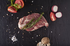 Piece of pork Stock Image