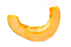 Piece of Pumpkin Stock Photography