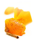 Piece of pumpkin Royalty Free Stock Photos
