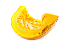 Piece of pumpkin Royalty Free Stock Images