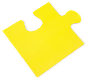 Piece of a puzzle Stock Photography