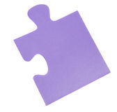 Piece of a puzzle Stock Photos
