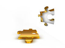 A piece of the puzzle Royalty Free Stock Photo