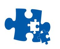 Piece of the puzzle Stock Photography