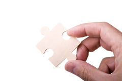 Piece of a puzzle Royalty Free Stock Photography