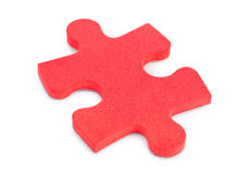 Piece of puzzle Stock Image
