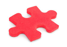Piece of puzzle Stock Photo