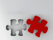 Piece of puzzle Stock Images