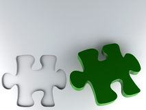 Piece of puzzle Royalty Free Stock Images
