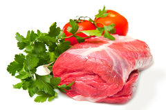 Piece of raw beef Stock Photography