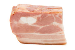 Piece of raw fat Bacon Royalty Free Stock Photos